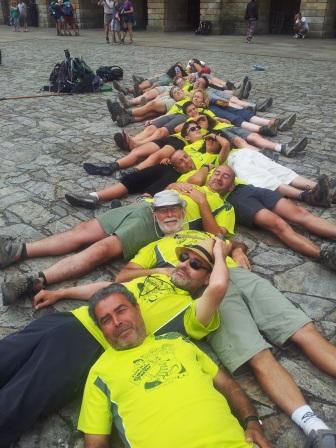 Piedrafita do Cebreiro-Santiago de Compostela, Julio 2013
