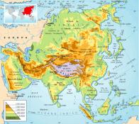 Asia fisica