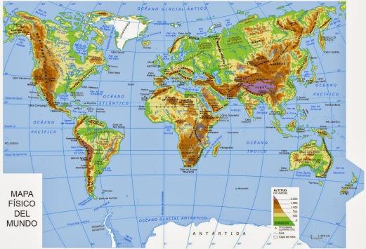 mapamundi fisico