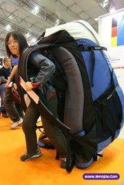 mochila muy pesada