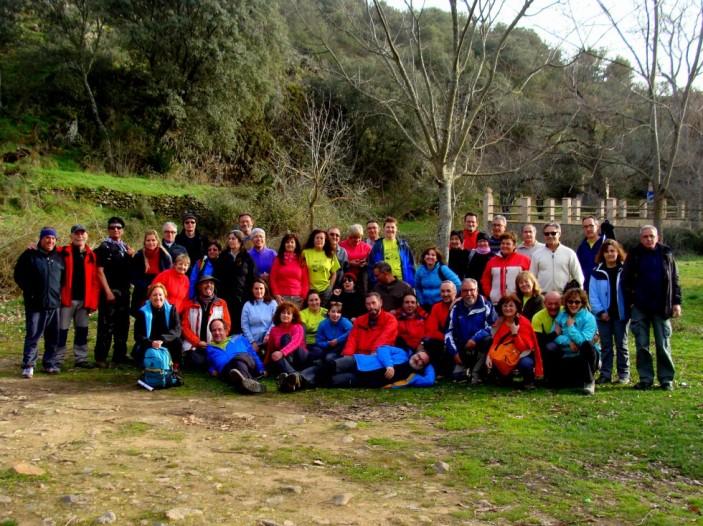 Cabañeros-Ruta del Chorro, 21.02.2016 ( Foto: Miguel Granados )