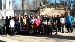 """""""Senda de Los Caballos"""" -Pico Jabalí-Legamarejo (Aranjuez) """"Día de la Mujer Pandarina""""), 06.03.2016 (Foto:  Sergio Barragán)"""
